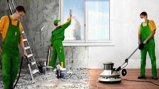 Профессиональная уборка помещений после ремонтных работ